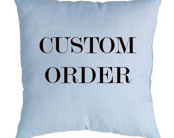 Personalized pillow, Cusrom Order. Pillow your photo. Print. Gift. Christmas. Birthday. Valentine's Day.