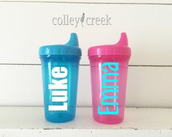 Personalized Sippy Cup Toddler Cup