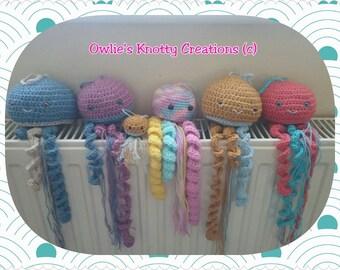 Hand Crocheted Jellyfish