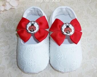 Ladybug First Birthday Outfit - Ladybug Shoes for Ladybug Birthday Outfit - Ladybug Birthday - LadyBug 1st Birthday Outfit - Ladybug Tutu