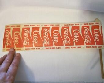 """Coca Cola Soda """"Coke Adds Life"""" 1970s Yo-Yo Stick Advertising"""