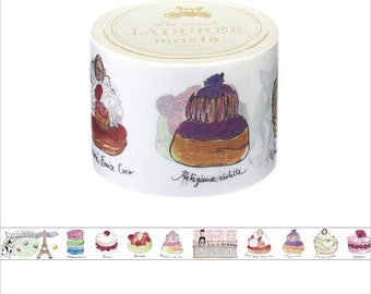 LADUREE Sweets designed washi tape entire roll