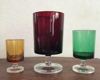 Vintage Set of 18 Glasses