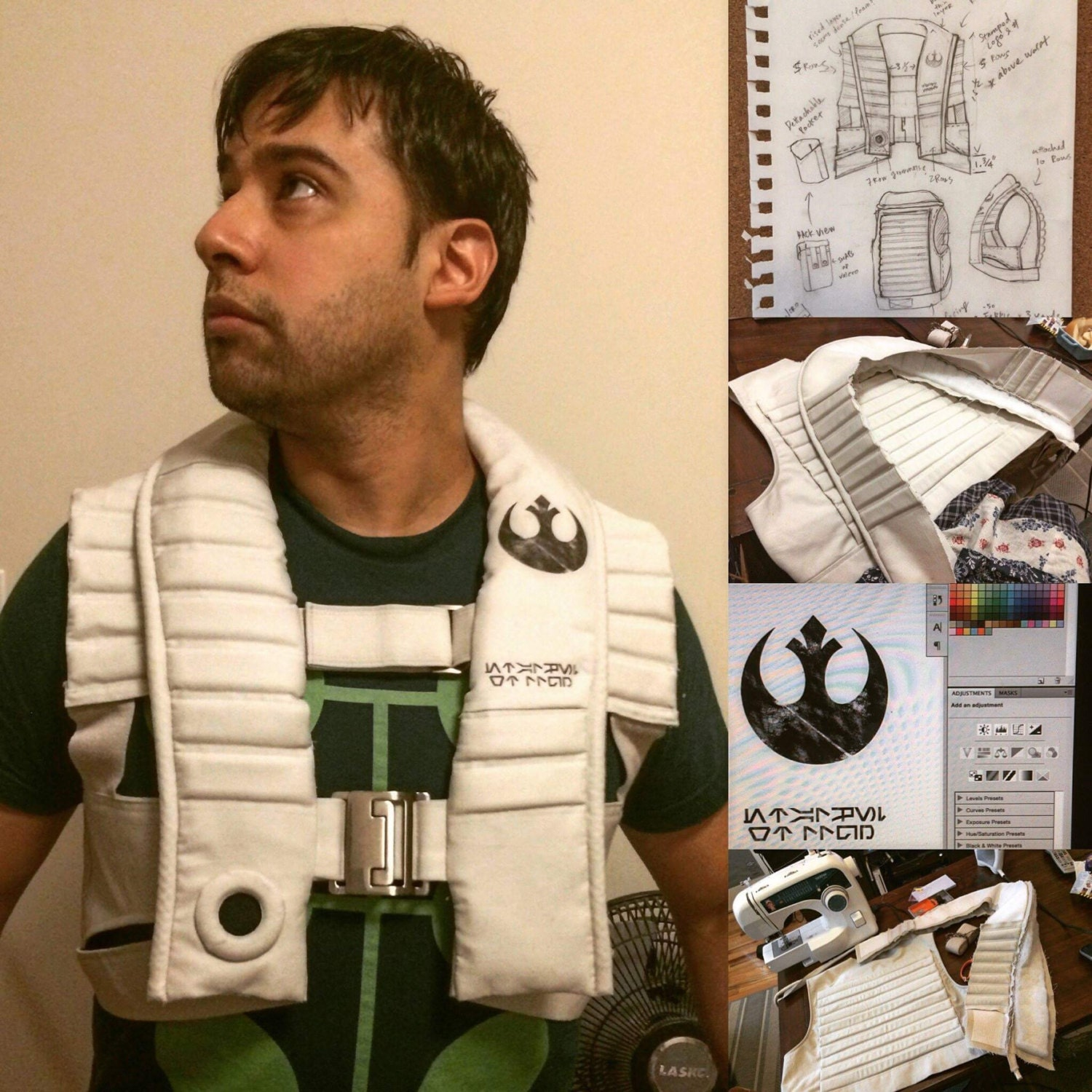 Star Wars The Force Awakens Sewing Pattern X Wing Pilot