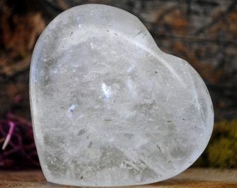 Crystal Quartz Crystal Heart  - 939.17