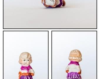 Vintage Bisque Figurine/Penny Doll / Frozen Charlotte -Doll#5