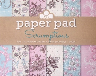 Scrumptious Paper Pad from Craftwork Cards
