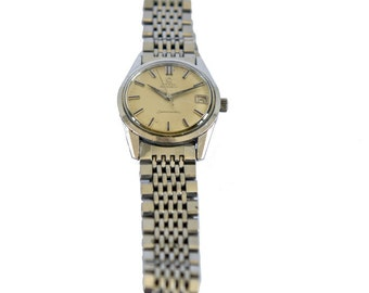 Vintage Watch Swiss OMEGA Seamaster Automatic Caliber 562 Men 35mm Calendar Steel 1960c Working