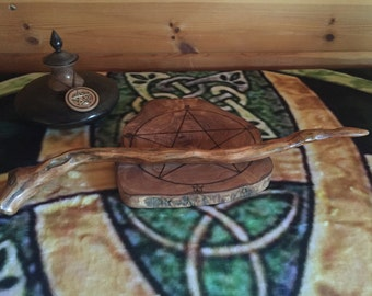 Wicca Druid witchcraft wand