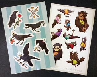 Crow Stickers