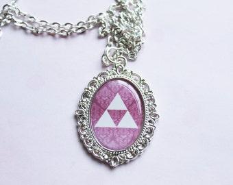 Legend of Zelda Triforce Gamer Cameo Necklace