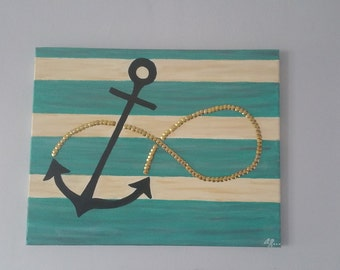 Infinity Plank wall Anchor