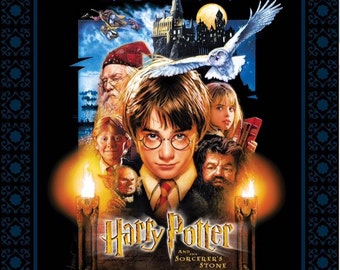 IN Stock Harry Potter Sorcerers Stone Poster Panel 36in x 44in Digitally Printed