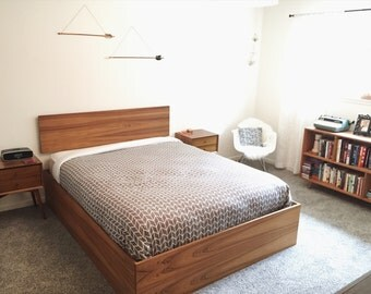 Mid Century Modern Danish Bed in Teak