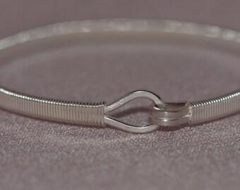 Gordion 1 - Handmade Sterling Silver Bracelet, Modern Designed.