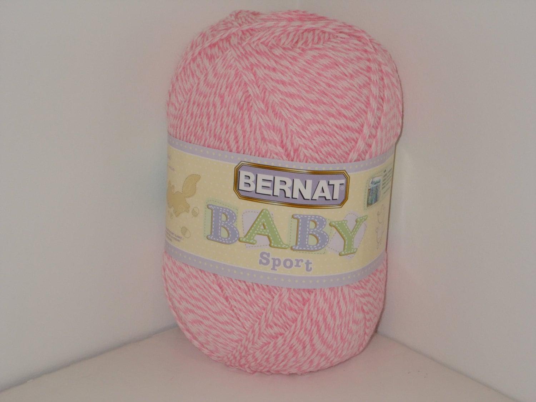Bernat Baby Sport Big Ball Yarn Baby Pink Marl 12.3oz/350g