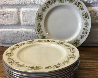 Royal Doulton Vanity Fair china salad/side plate (8 available) weddings/shabby chic/retro/floral