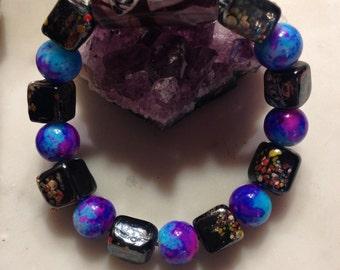 Tie-Dyed Extraterrestrial Bracelet