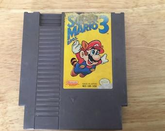 Super Mario Bros 3 w/ worn label