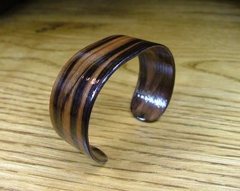 Simple Ebony Bracelet - Medium Bentwood Ready to Ship