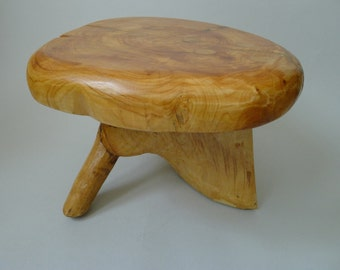 Quirky Table ,Seat, Step or stool Scottish Wood