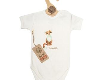 Organic cotton baby bodysuits 3 pack