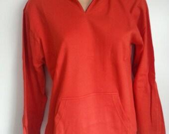 ladies fashion re hoodie with personalised print