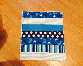 Baby Blue Whale Quilt