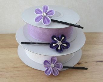 Hair Accessories-Hair Pins-Hair Clips-Bobby Pins-Kanzashi Flower- Kanzashi-Women's Hair Accessories-Girls Hair Accessories-Gifts for Girls
