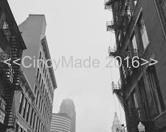 Downtown Cincinnati, Alley View