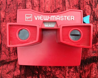 GAF View-Master with 1 preview disc & 3 stories included