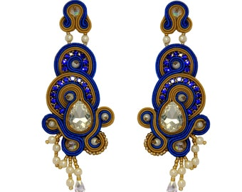 Earrings Soutache Carlota S2