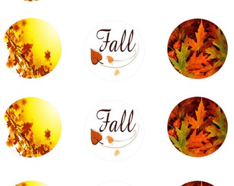 Fall Edible Images