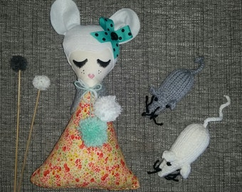 Cloth Dolls and Foxes