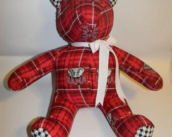 Teddy bears of every imaginable kind!