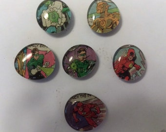 Flash and Green Lantern Magnets
