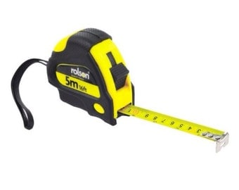 Rolson Tape Measure 5m x 19mm