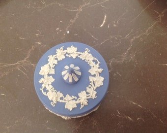 Wedgewood blue trinket box