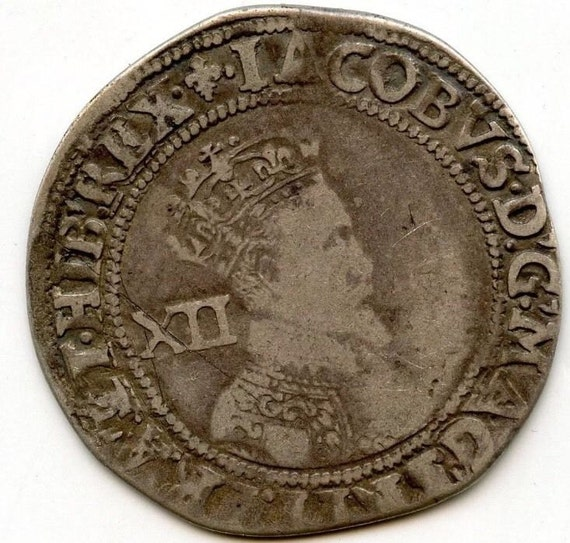 Great Britain England King James I Shilling Ad 1603 1625