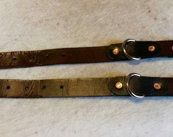 Basic brown and black restraints