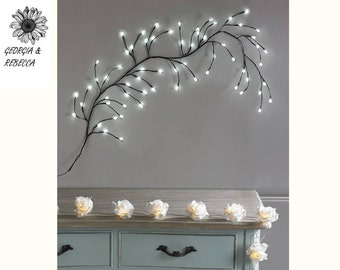 White LED Wall Branch Light