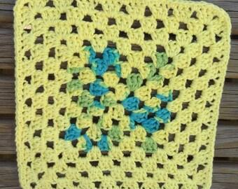 Granny Square Dish Cloth