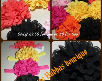 Pretty Girls Headbands, 5 colours available