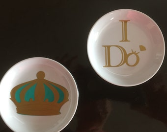 Ring dishes for the mr. & mrs. !!