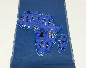 Handmade African Wall Hanging