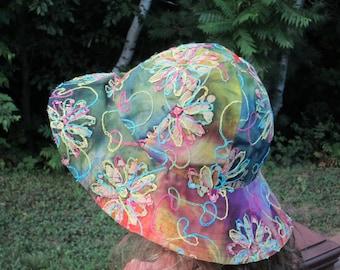 Floppy Brim Sun Hat