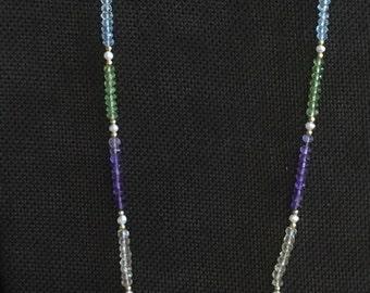 Semi Precious Multi Colored Necklace