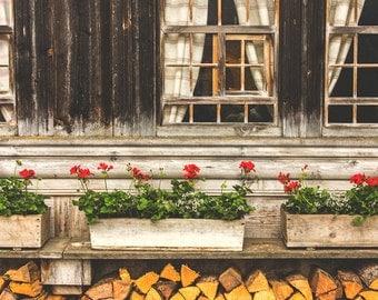 Switzerland Photography, Travel Photography, Europe Photography, Windows