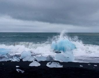 Glacier Beach, Iceland I