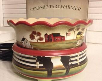 Down on the Farm Electric Wax Melt Warmer Tart Burner Candle Warmer